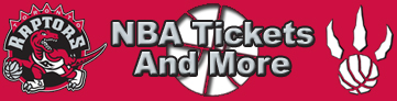 Toronto Raptors Tickets and More