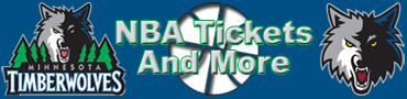 Minnesota Timberwolves Tickets and More